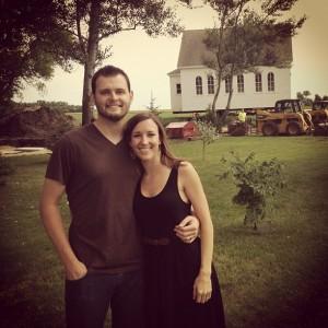 Amanda and Dave